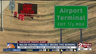 Year-long construction project starts on Highway 11