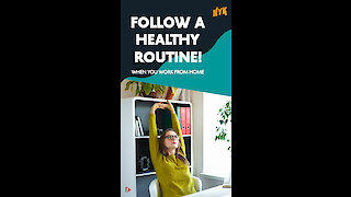 How To Maintain A Healthy Fitness Routine While Working From Home