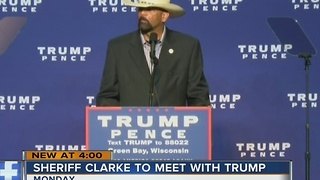 Sources: Sheriff Clarke to meet with President-elect Trump Monday - Video