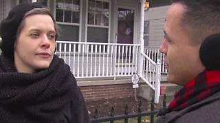Ohio City woman assaulted by masked man - Video