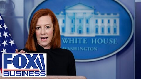 "BOOM - Plane Flys Over ""White House"" During Psaki Press Briefing - Skip To 14:40 Minute Mark -"