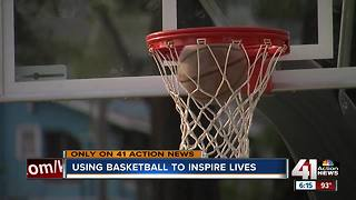 Man hopes new basketball courts will bring community together - Video