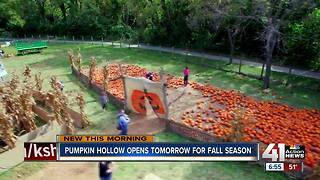 Pumpkin Hollow offers family fun, fall activities in Overland Park - Video
