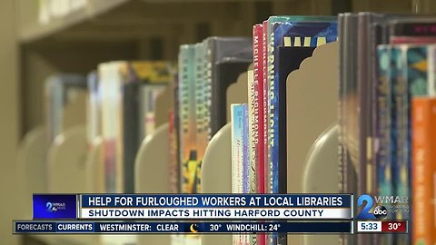 Help for Furloughed Workers at Local Libraries