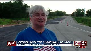 OSBI investigates Bristow Officer-Involved Shooting - Video