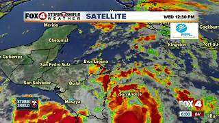 The latest on Tropical Depression 16 - Video