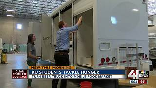 KU students to launch mobile market 'oasis' in Wyandotte County food desert - Video