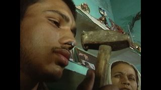 Man Hammers Nail Into Nostril