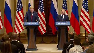 Trump on Russia election interference: 'All I can do is ask the question' - Video