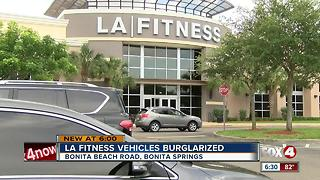 Thieves smash car windows, steal purses at LA Fitness in Bonita Springs - Video