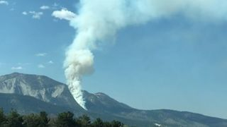 Plane Crash Sparks Fire in Nevada's Washoe Valley