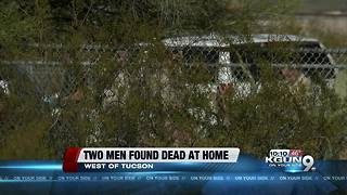Two men found dead in a home west of Tucson identified