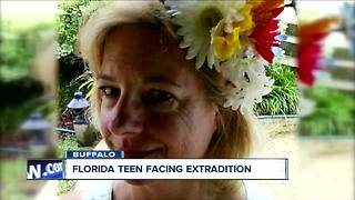 Florida teen detained in WNY, facing extradition - Video