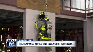 Harris Hill, WNY fire companies looking for more volunteers