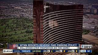 Wynn Las Vegas announces free parking for patrons