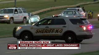 Three people shot, killed at Great Lakes Dragaway - Video