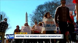 Group plans second Cleveland Women's March - Video