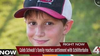 Schwab family & Schlitterbahn reach settlement - Video