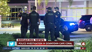 Shooting investigation in downtown in Cape Coral