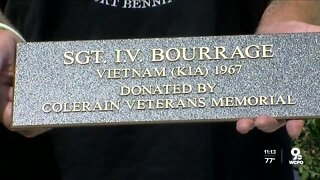 Memorial honors the service of I.V. Bourrage