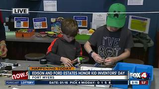Edison and Ford Winter Estates celebrate National Kid Inventors' Day - 8am live report - Video