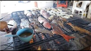 Chacala, Nayarit, Mexico - Fresh Fish on the Grill! AMAZING!