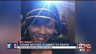 Young mother stabbed to death - Video