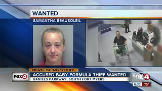 Woman identified in baby formula theft - Video