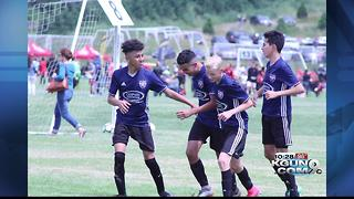 Tanque Verde '03 Boys win opener, 2-0 - Video