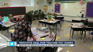 Hillsborough Schools, teachers' union reach tentative agreement on pay, child care costs and more
