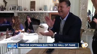 Trevor Hoffman elected to Hall of Fame - Video
