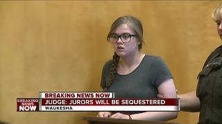 Juries to be sequestered in Slender Man murder trials - Video