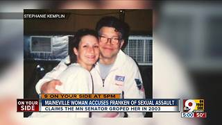 Warren County woman accuses Franken of sexual assault - Video