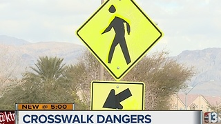 North Las Vegas crosswalk raises concerns - Video