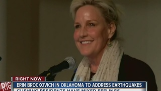Erin Brockovich to speak in Green Country - Video