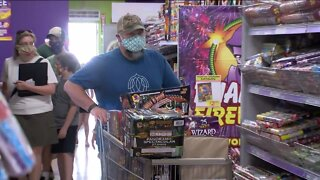 Fireworks sales booming
