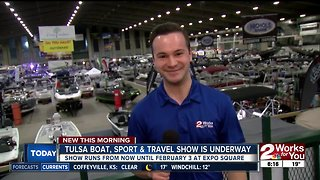 A preview of the Tulsa Boat, Sport and Travel Show