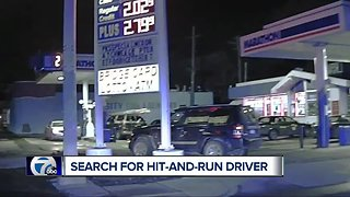 Detroit Police search for hit-and-run driver on Livernois