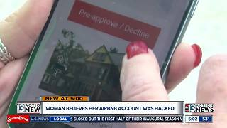 Las Vegas woman believes Airbnb account was hacked to create fake listing - Video