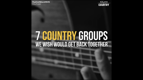 Country Groups We Wish Would Get Back Together T7KS9T8d