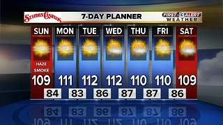 13 First Alert Las Vegas Weather Forecast for August 5 - Video