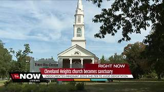 Cleveland Heights church will allow woman facing deportation to seek sanctuary from the law - Video