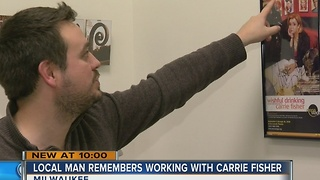 'She was a force of nature:' Local fans remember Carrie Fisher - Video
