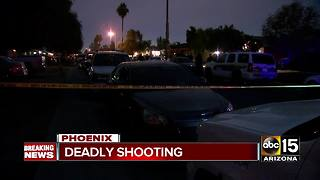 Deadly shooting in west Phoenix - Video