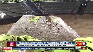 Monster truck show 'Monster X' to perform at Mechanics Bank Arena