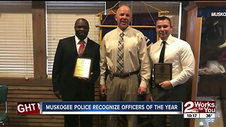 Muskogee police recognize Officers of the Year