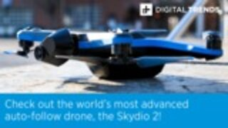 Check out the world's most advanced auto-follow drone, the Skydio 2!