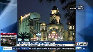 Station Casinos upgrades movie theaterss - Video