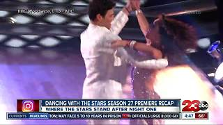 Dancing With The Stars night 1 - Video