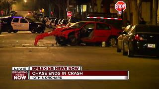 Three hospitalized in south side crash - Video